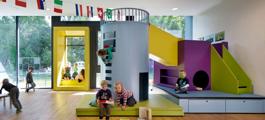 مرکز نگهداری کودکان در آلمان
