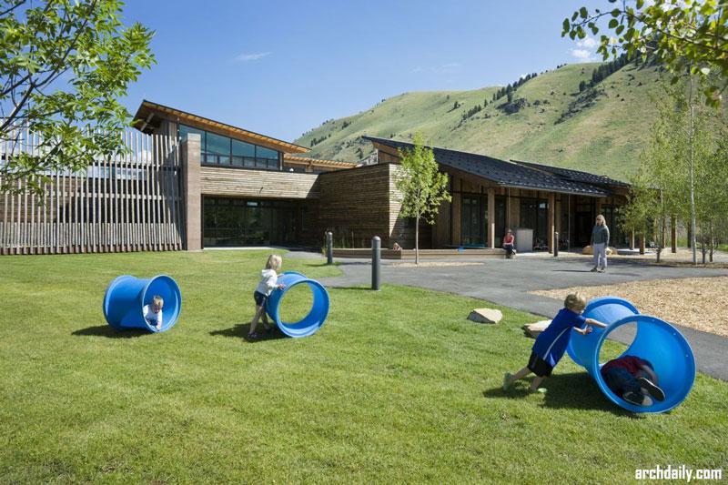 مرکز آموزش کودکان دهکده Teton