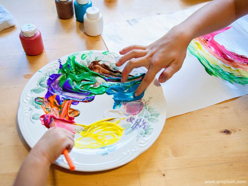 آموزش هنر به کودکان، بخش ششم - تخیل و فانتزی