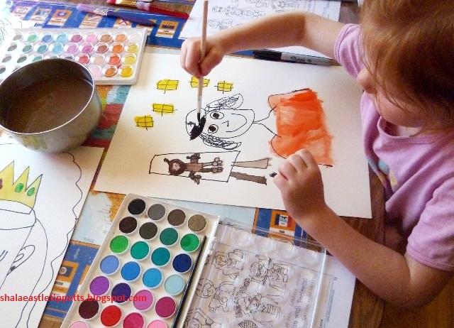 نقاشی های کودکان را جدی بگیرید