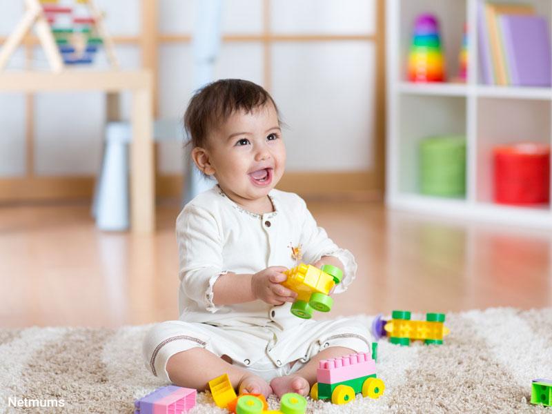بازیهای آسان برای تقویت هوش نوزادان بالای یکسال