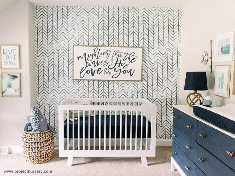 آیا رنگ اتاق خواب نوزاد بر خوابش تاثیر دارد؟