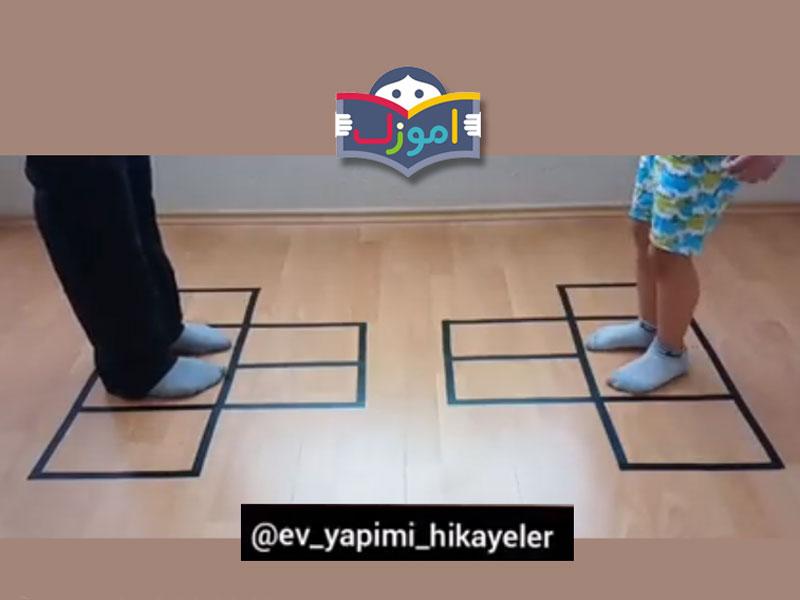 بازی و سرگرمیهای حرکتی در خانه