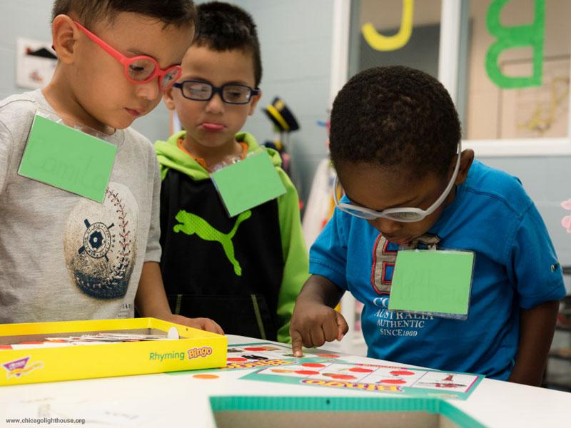 مناسبسازی کلاسهای درس برای کودکان کمبینا