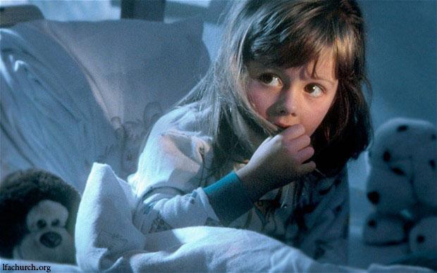 ترس کودکان همیشه ترسناک نیست