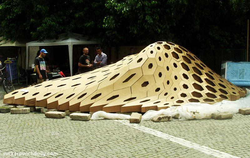 بدنه لاکپشت در قالب کارگاه کودک رومانی
