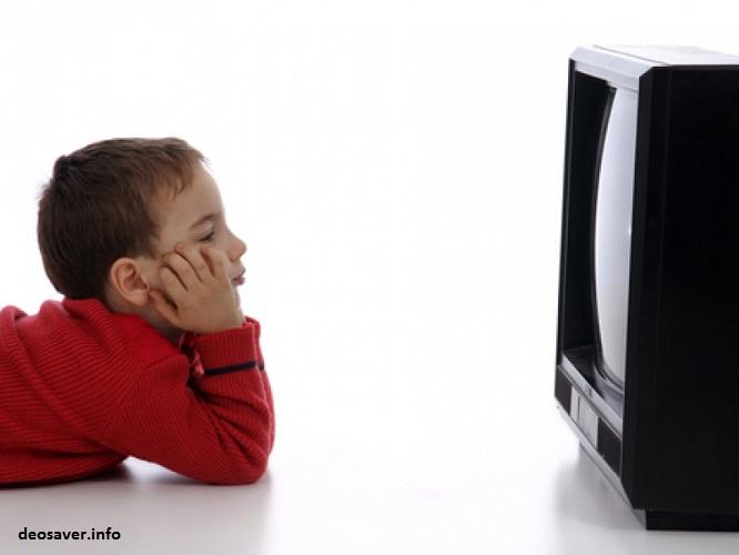 اعتیاد کودک به جعبه جادو
