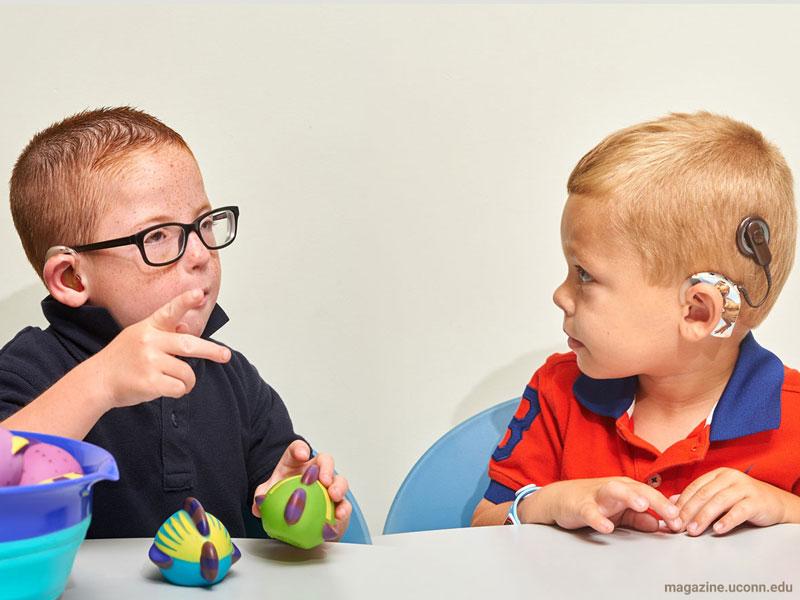 تنبلی گوش کودکان، بخش دوم