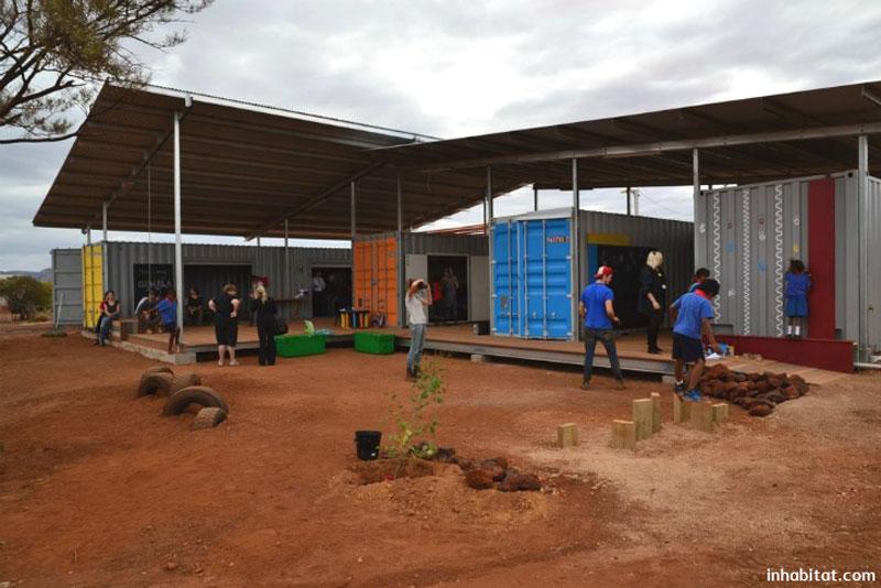 دانشجویان معماری، پیشگامان مدرسه سازی در استرالیا