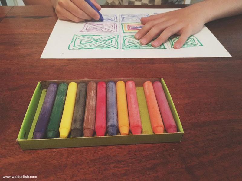 رسم در رویکرد والدورف، پرورش مهارتهایی فراتر از طراحی روی کاغذ