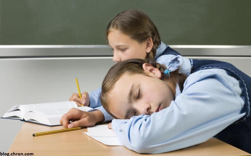 تاثیرات کم خوابی در یادگیری کودکان