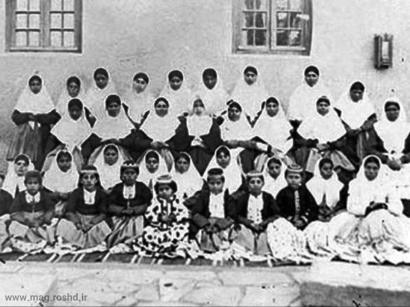 شیوه نوین آموزش ابتدایی در دوره قاجار