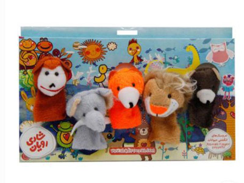معرفی عروسک انگشتی حیوانات جنگل
