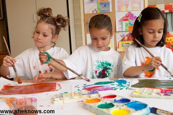 تاثیر آموزش هنر بر خلاقیت