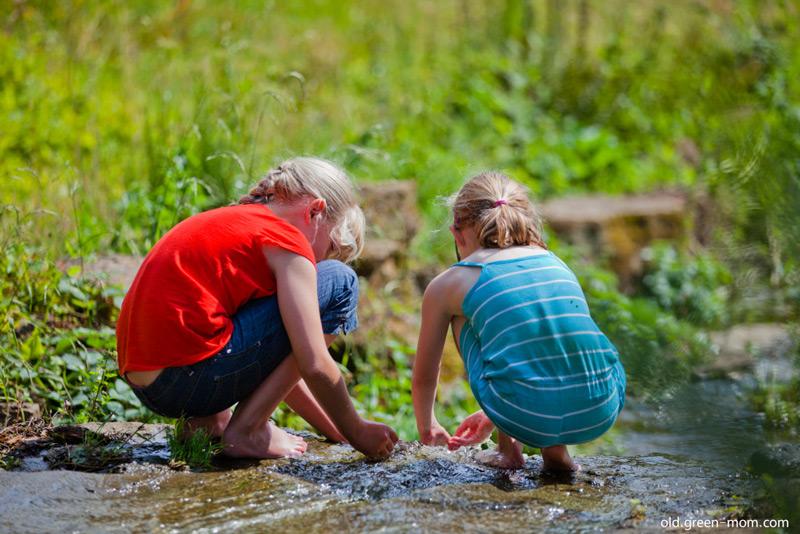 دوست داشتن طبیعت را به کودکان مان بیاموزیم