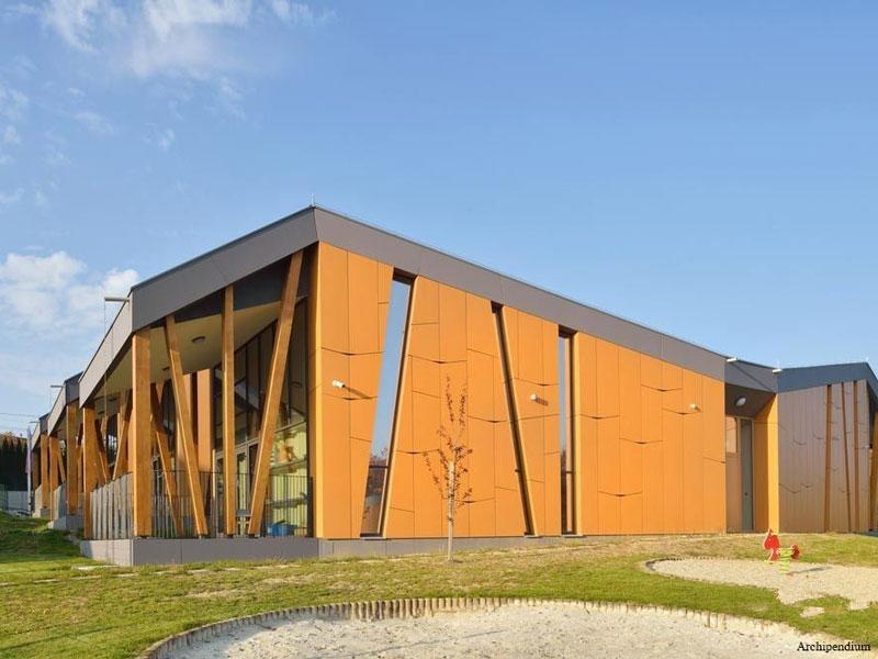 معماری و طراحی داخلی مهد کودک Cerkvenjak