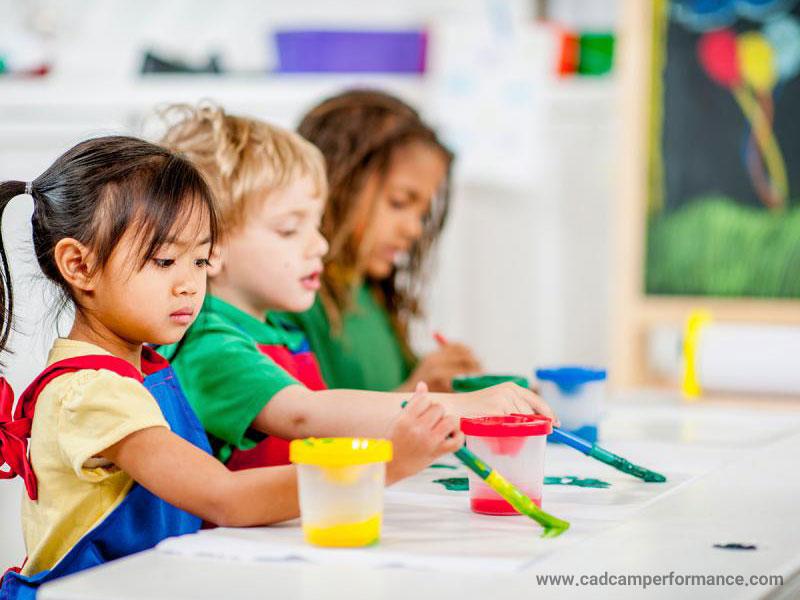 آموزش هنر به کودکان، بخش پایانی - مراحل نقاشی در کودکان