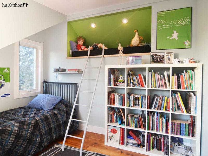۱۰ ایده خلاقانه برای کتابخانه ای در قلب اتاق کودک