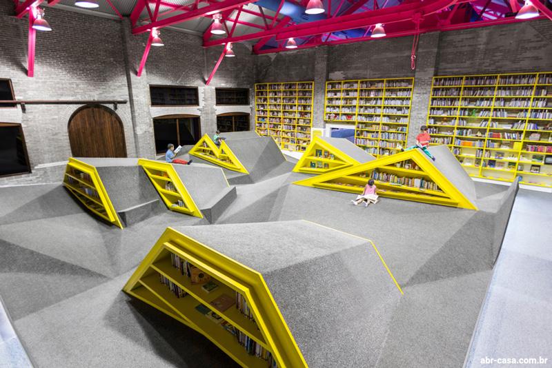 کتابخانه کودک در مکزیک