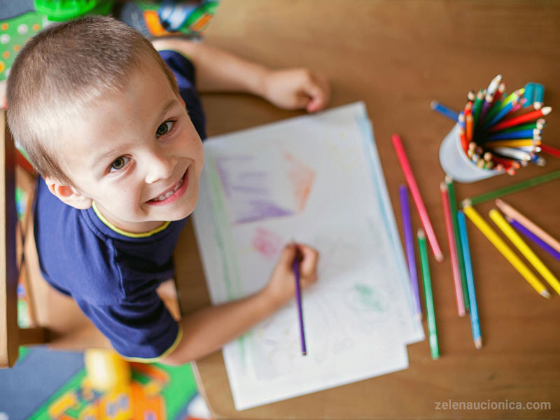 مهارت نوشتن و نقاشی
