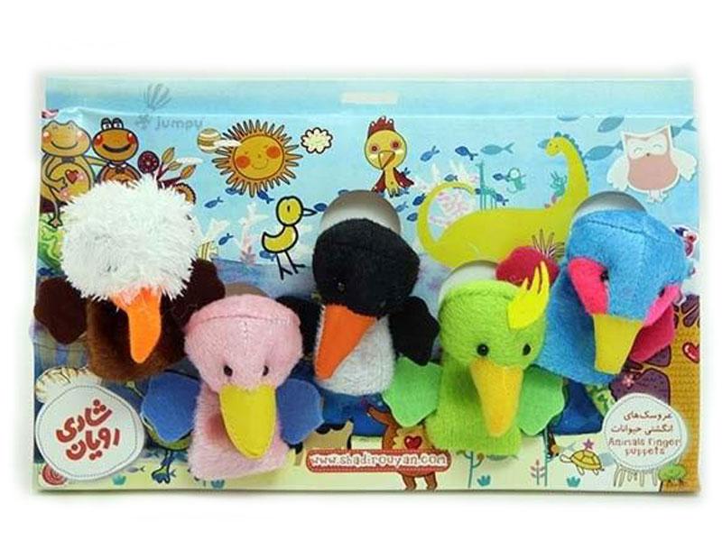 معرفی عروسکهای انگشتی پرندگان