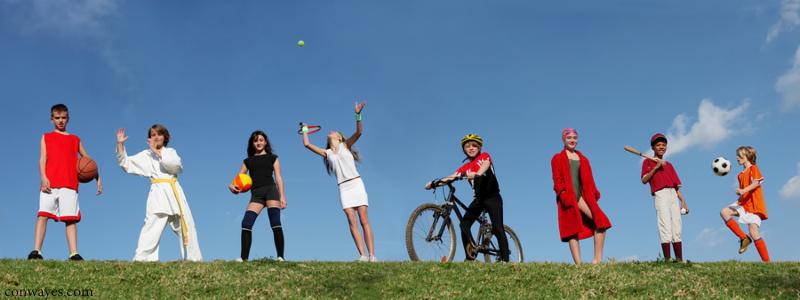 كوچولوهاي ورزشكار