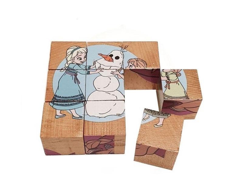 معرفی بازی پازل 6 وجهی چوبی
