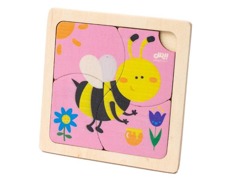 معرفی پازل 4 تکه زنبور