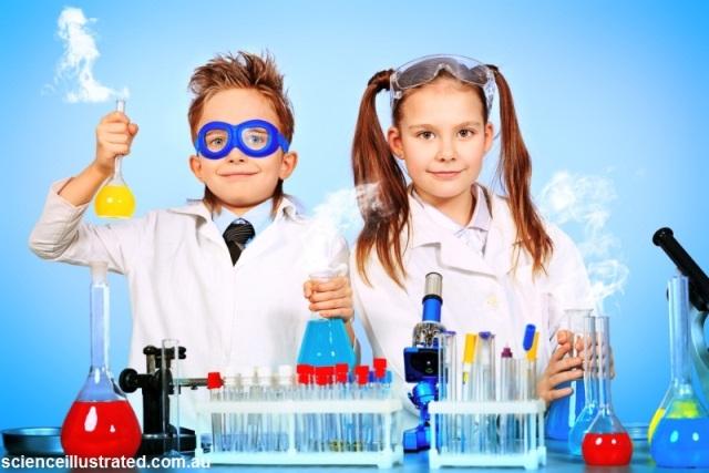 کودکان، دانشمندان کوچک