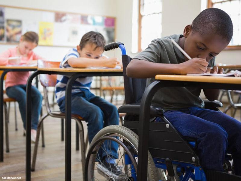 فراگیرسازی معکوس برای دانش آموزان با ناتوانی