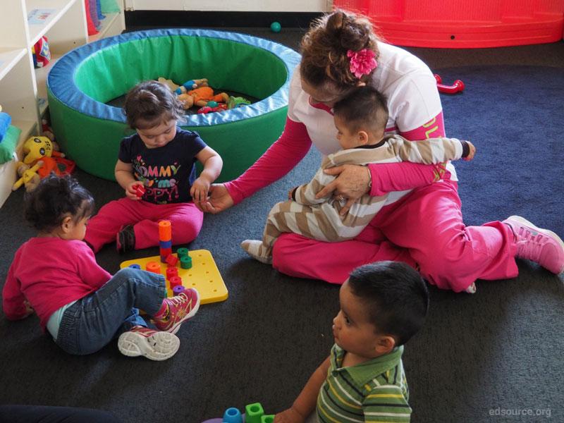 اتاق بازی در کودکستان خانگی