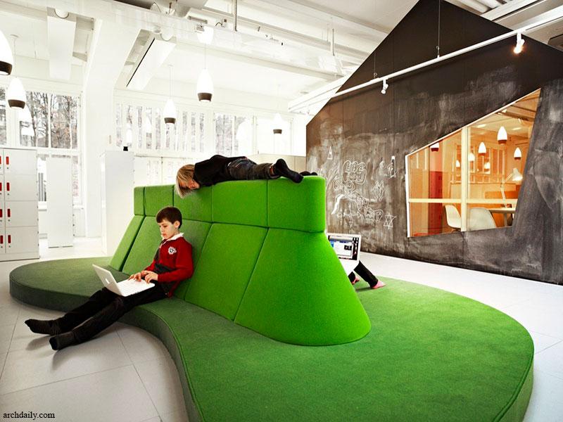 طراحی مدرسه بدون کلاس در سوئد