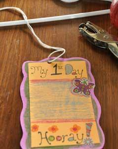 ثبت خاطرات با ساختن یک آویز متحرک