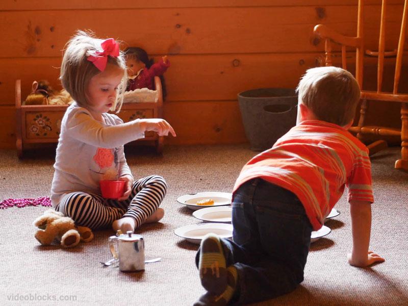 ویژگیهای کودکان ۳ و ۴ ساله در کودکستان خانگی