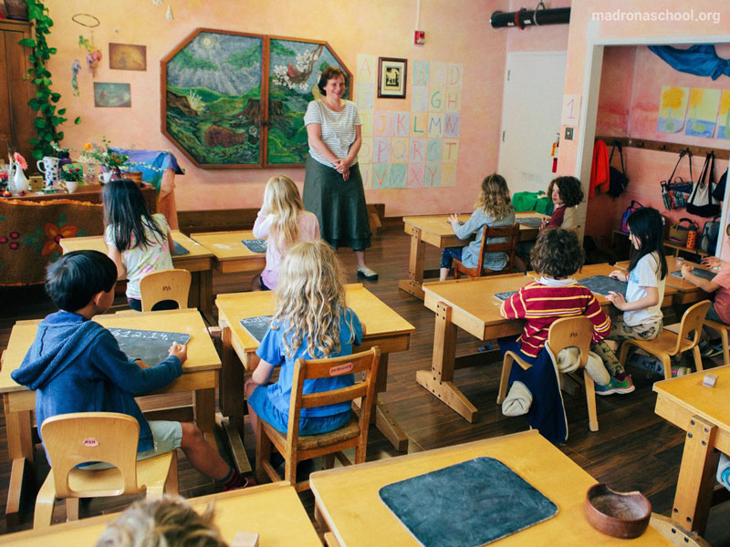 والدورف، مدرسهای جهانی