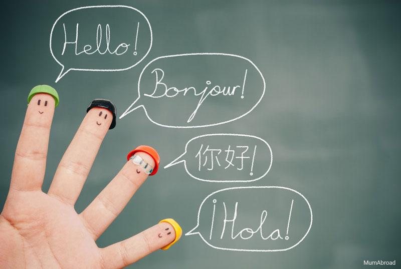 کودکان در خانوادههای چند زبانه